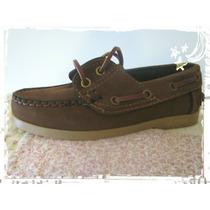 Zapatos Leñadores De Gamuza, Excelente Calidad!