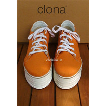 Clona! Borcego Creeper Zapatilla Plataformas Nuevas 38 Y 40