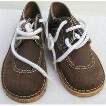 Bubble Gummers Zapatos Escolares 33 Cuero Marron (ana.mar)
