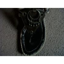 Stilettos Zapatos Sandalias Cuero Taco Chino Talle 38
