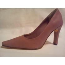 Stiletto Clásico Rosa Liquidación ! Excelente Calzado