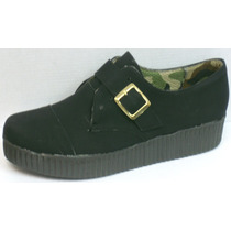 Creepers Zapatos Mocasines Plataforma