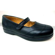 Zapato Colegial Nena, 100% Cuero Vacuno, 2 Colores, 2modelos