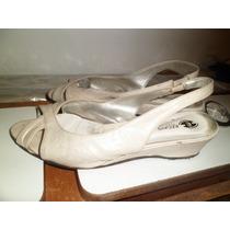 Sandalias Taco Chino - Finas De Vestir
