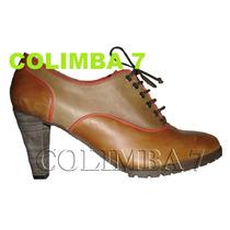 ¡¡ Viamo Zapatos Botinetas Mod. Tanti Cuero Nuevas N°39 Mama