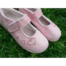 Zapatilla Sandalia Zapato Nº 32 Preciosa Corazones