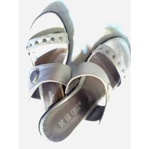 Sandalias Color Plata.nº 36.¡miralas!