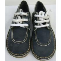 Bubble Gummers Zapatos Escolares 29 Cuero Vaca Azul (ana.mar