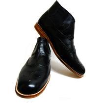 Willi-er Zapato De Cuero Hombre