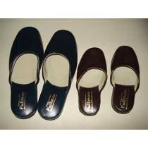 Lote De Chinelas De Cuero,calzado Fino, Del 23 Al 33,pullman