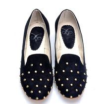 Ballerina Chatita Tacha Mujer Zapatos Bota Almacen De Cueros