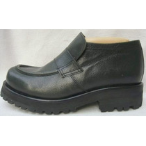 Key Biscayne Zapato Plataforma Hombre 38 Cuero Verde-ana.mar