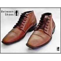 Calzado Hombre De Cuero-between Shoes