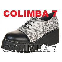 ¡¡ Viamo !! Zapatos Botas Mod. Atenea 100% Cuero Nueva N°37