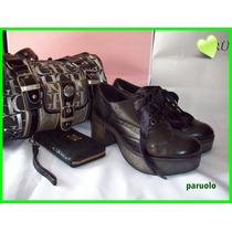 Paruolo Zapatos Con Plataforma!!! N39