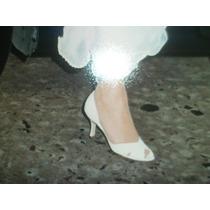 Zapatos De Novia Ver-cal De Cuero