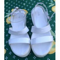 Sandalias De Mujer Prune Blancas