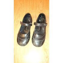 Zapatos De Niña Marcel Colegiales Negros Talle 33