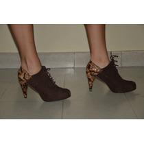 Hermosos Zapatos Abotinados