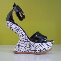 Zapato Sandalia Sin Taco Plataforma. Liquidación Verano!