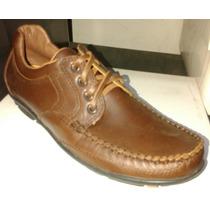 Zapatos Náuticos Leñador Fuel Cuero Vacuno