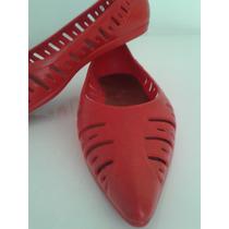 Zapatos Rojos De Goma / Lady Stork