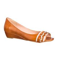 Zapato Bajo Taco Chino De Mujer 100% Cuero Andrea Bo Outlet