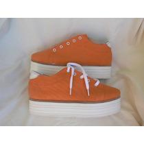 Zapatos Zapatilla Plataforma Nº 39 38 Nuevo Clona