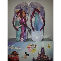 Frozen Ojotas Disney En Caja!en Flores!!