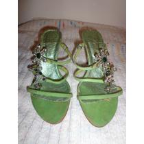 Sandalias Importadas Con Piedras Talle 35