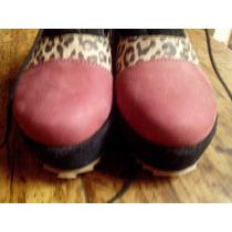 Zapatos De Dama Con Plataforma Zuca