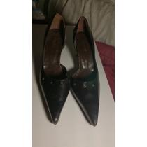 Zapatos De Cuero Mujer Fiesta N.40