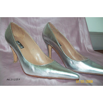 Stilettos Color Plata Art. 2112 St P