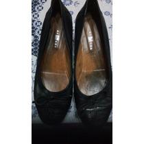 Zapatos Chatitas Balerinas Cuero Nuevas (n°39 )