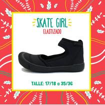 Zapatos Zapatillas Colegial De Neopren Diez Indiecitos!!