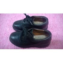 Colegiales Zapatos N°28-suela Febo 100% Cuero-plantilla 18cm