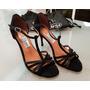 Zapatos De Tango Victorio Negros -- Talle 37