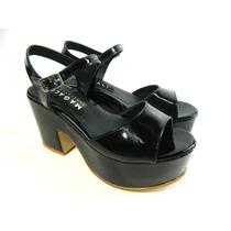 Zapatos Taco Plataforma Sandalias Zuecos Mujer Magali Shoes
