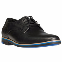 Zapato Abotinado Acordonado Cuero Negro Ringo