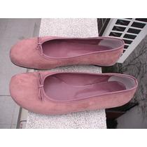 Zapatos Chatitas Con Moño De Gza N°40. Ultimo Par!!!