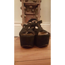 Zapatos Suecos Justa Osadia Negros 39