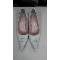 Zapatlo Stilettos Blanco 37 Natacha
