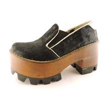 Zapatos Plataformas Tacos Goma Mocasín Borcegos Botas Elásti