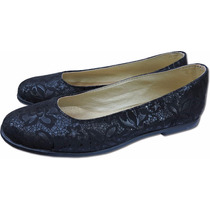 Zapatos Balerinas Chatitas De Dama O Mujer Tachas Doradas