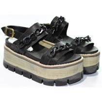 Zapatos Sandalias Plataforma Mujer Fransiscanas Qiu