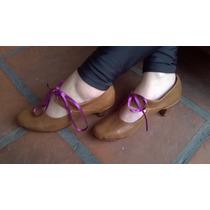 Zapatos De Cuero Artesanales La Mora - Modelo Antoinette