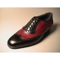 Zapatos Artesanales De Baile Tango Salsa Calle 100%cuero