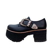 Zapatos Mujer Plataformas Sandalias Cuero Mocasin Paradisea