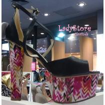 Zapatos Importados Con Taco Redondo De 15 Cm. Hermosos!!!!!