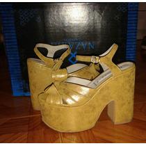 Oferta ! Zapatos Con Plataforma